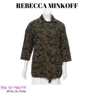 REBECCA MINKOFF CAMOUFLAGE JACKET